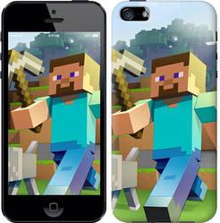 """Чехол на iPhone 5 Minecraft 4 """"2944c-18-328"""""""
