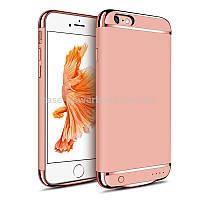 Чехол-зарядка JOYROOM для iPhone 6S+ Розовое Золото