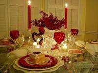Организация романтического ужина