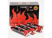 U16 Уголь для кальяна, Уголь для кальяна в спайках (10 спаек в упаковке),Уголь недорогой, Уголь качественный