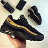 Nike Air Max 95 Black Gold Grey (реплика)