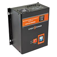 Релейный стабилизатор напряжения LogicPower LPT-W-5000RD, 3500 Вт, черный, фото 1