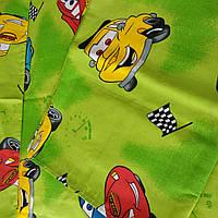 Постельное белье набор (3предмета) Тачки зеленые