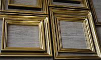 Позолоченные деревянные рамы для икон.
