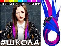 """Цветные пряди (Трессы ) как у Ники сериал """"Школа"""", фото 1"""