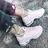 Кроссовки Nike Air Max Tn+ plus pink. Топ качество! Живое фото (Реплика ААА+), фото 6