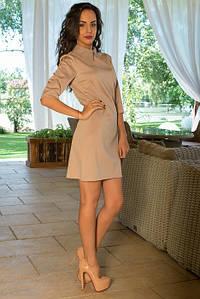 Платье бежевое Stylish