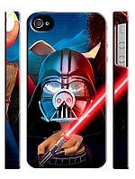 Чехол для iPhone 4/4s/5/5s/5с, Звездные войны, Star wars, Дарт Вейдер Пятачок
