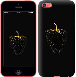 "Чехол на iPhone 5c Черная клубника ""3585c-23-328"""