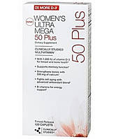 Витамины WOMEN`S ULTRA MEGA 50 PLUS 120 капсул