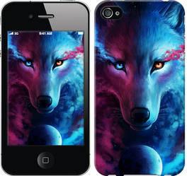 "Чехол на iPhone 4s Арт-волк ""3999c-12-328"""