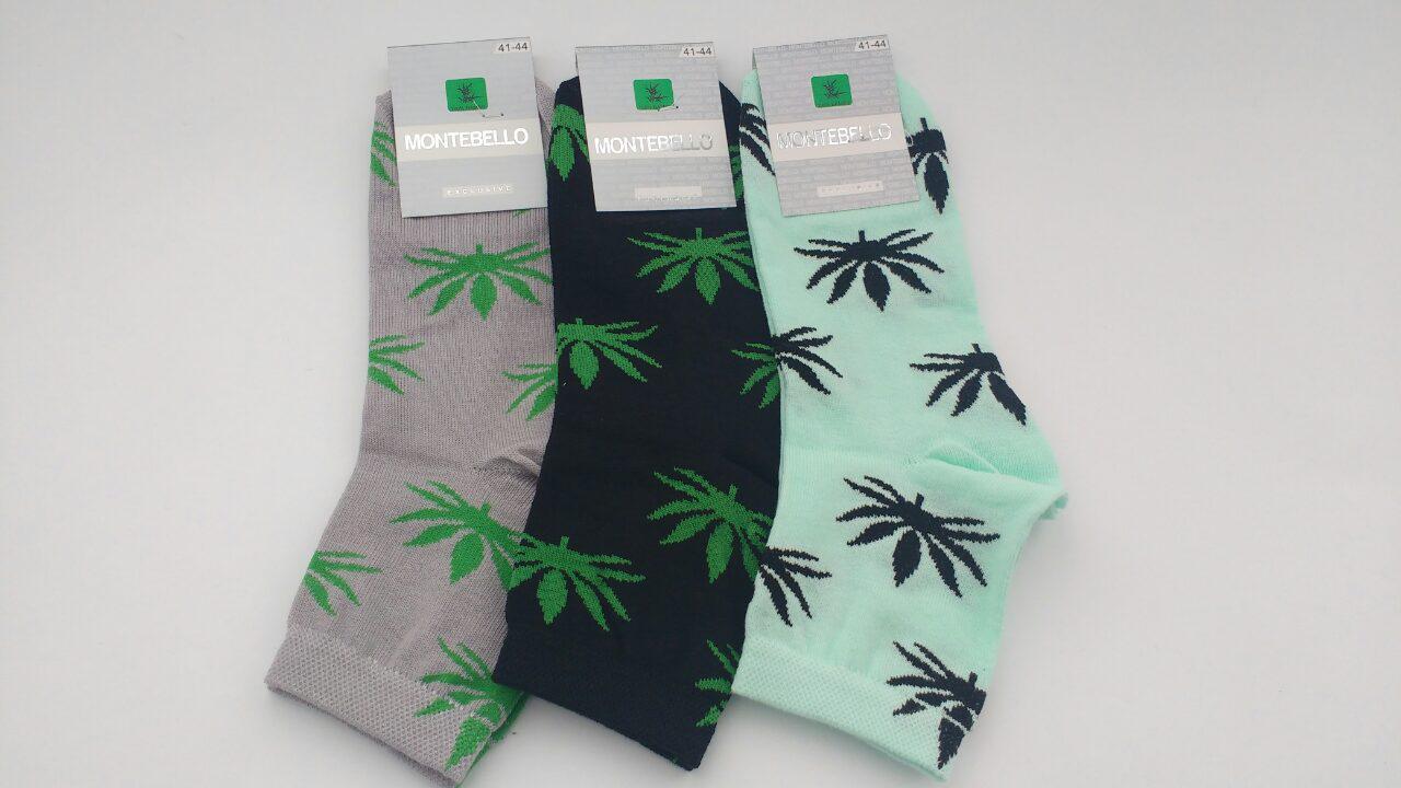 Мужские носки Montebello с коноплей