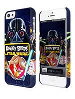 Чехол для iPhone 4/4s/5/5s/5с, Звездные войны, Star wars, Angry birds