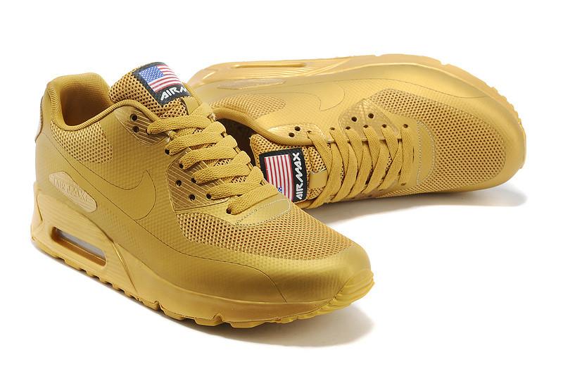 01016711 Женские кроссовки Nike Air Max 90 Hyperfuse золотистые - SHOES-INTIME в  Харькове