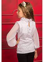 """Ажурная блуза с длинным рукавом """"Маркиза"""""""
