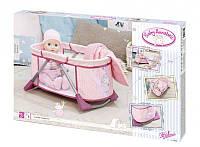 Ліжечко переносна манеж для ляльки Бебі Анабель Baby Annabell Zapf 794982, фото 1