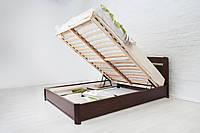 Кровать Нова с ПМ 200*180 бук Олимп, фото 1