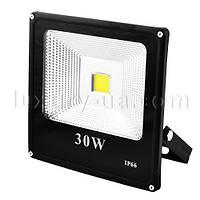 Прожектор светодиодный матричный SLIM YT-30W SMD, 2700Lm, IP66 (влагозащита) - 30