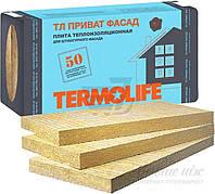 Базальтовая вата TERMOLIFE ТЛ Приват Фасад 50мм 2,4кв.м