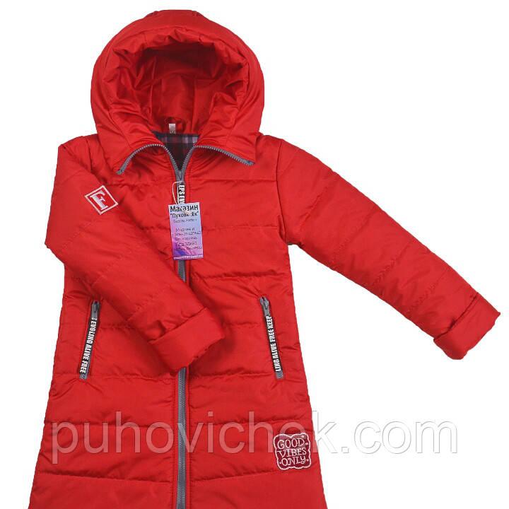 Красивая курточка для девочки весенняя