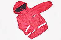 Детская Куртка Дождевик демисезонная на флисе для девочек 90 см 1,5-2 года Weather report