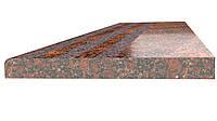 Ступени гранитные Новоданиловские термообработанные 1400*300*30, фото 1