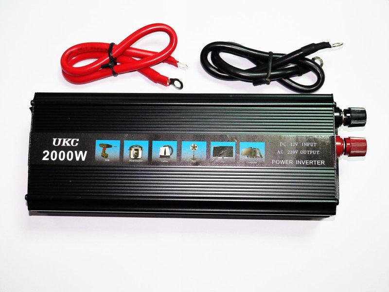 Преобразователь 12V-220V 2000W инвертор
