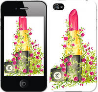 """Чехол на iPhone 4s Помада Шанель """"4066c-12-328"""""""