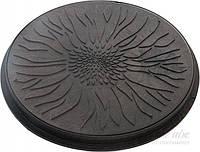 Люк полимерный смотровых колодцев (садовый) черный
