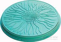 Люк полимерный Полимерград смотровых колодцев (садовый) зеленый