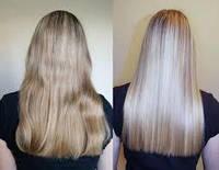 Кератиновое восстановление поврежденных волос, биологически активный комплекс