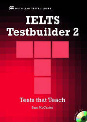 IELTS Testbuilder 2 with key and Audio CDs