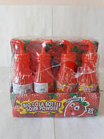 Карамель Big Cola Bottle Sour Powder 20 шт (Китай)