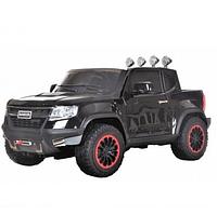 Детский электромобиль Chevrolet BA602B джип-пикап черный  ***