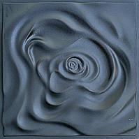 """Роза"" форма для 3D панелей 50х50 (АБС пластик), фото 1"