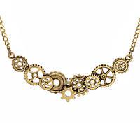 Необычный кулон на шею ожерелье из шестеренок!