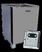 Электрокаменка для сауны и бани EcoFlame SAM D-12 кВт + пульт CON6 (10-18 м3), фото 1