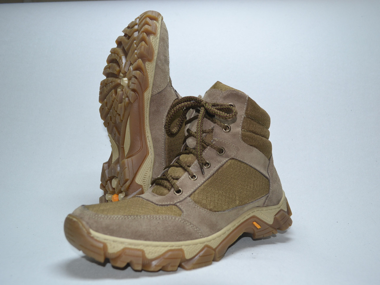 Тактические ботинки из натуральной кожи РА - Рейджер БЕЖ