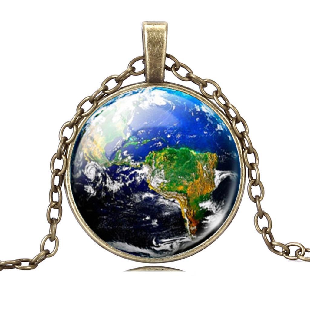 """Необычный кулон на шею """"Планета Земля""""!"""