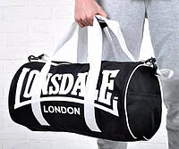 Сумка спортивная сумка lonsdale london, сумка лондон черный, фото 1