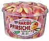 Персиковые дольки Харибо Haribo 1350гр.