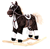 Лошадка-качалка  музыкальная W03  ***