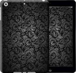 """Чехол на iPad 5 (Air) Чёрно-серые листья """"843c-26-328"""""""