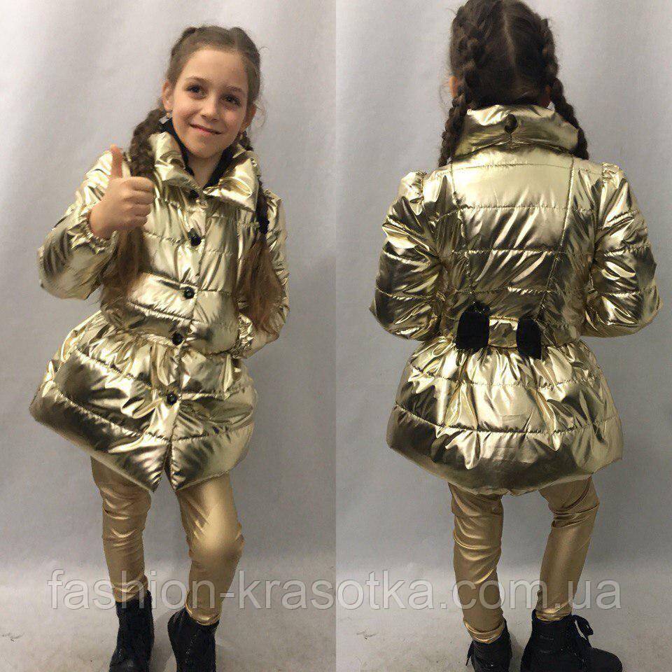 Плащик детский для девочек в размерах 116-134