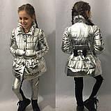 Плащик детский для девочек в размерах 116-134, фото 4