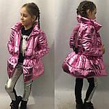 Плащик детский для девочек в размерах 116-134, фото 5