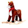 Лошадка-качалка  музыкальная W01  ***