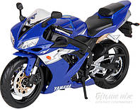 Автомодель 1:12 мотоцикл синий 31101-17 Yamaha YZF-R1