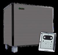 Электрокаменка для сауны и бани EcoFlame SAM D-18 кВт + пульт CON6 (17-29 м3)