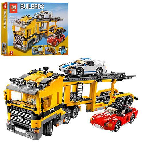"""Конструктор Decool 24011 """"Автовоз"""" 1344 деталей.   """"Автовоз 3в1"""" ( Аналог Lego Creator 6753 )"""